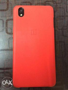 OnePlus X with Box, Bill and 3 Covers
