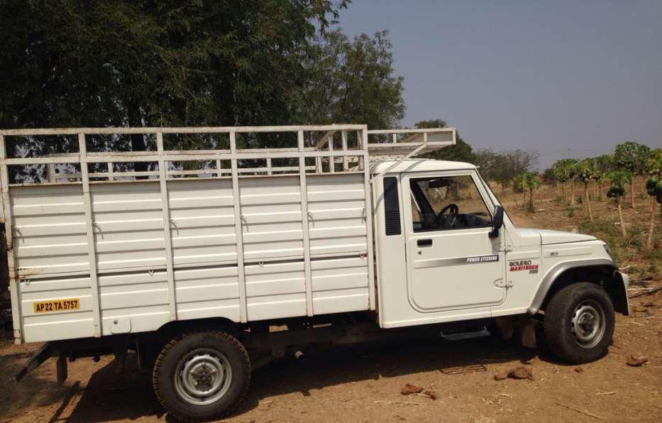 Mahindra Bolero Hyderabad Public Ads Commercial Trucks