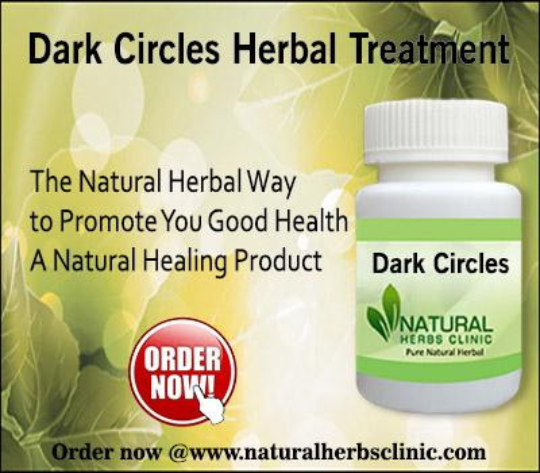 Herbal Treatment for Dark Circles