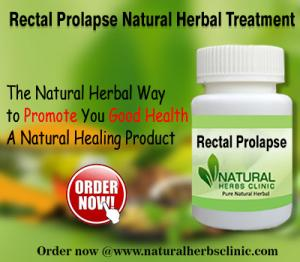 Herbal Treatment for Rectal Prolapse