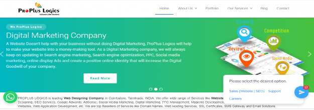 SEO Services in Coimbatore - Affordable SEO Services by ProPlus Logics