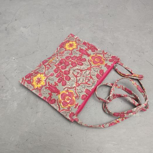 Printed Sling Bags - Jaipur Mela