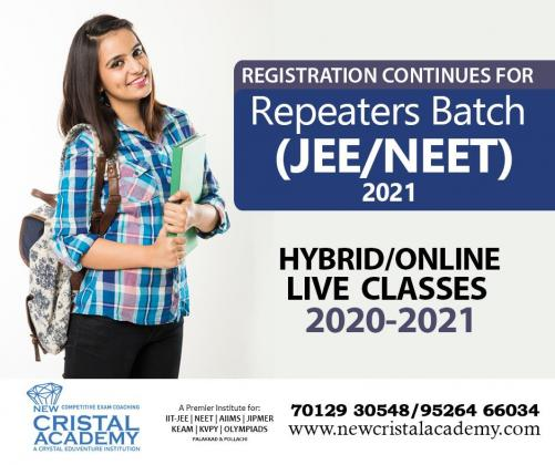 New Cristal Academy | Best NEET and JEE Coaching Centre In Palakkad, Kerala