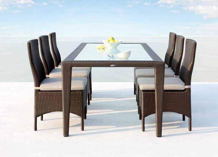 Garderin Outdoor Furniture Dinning Chairs